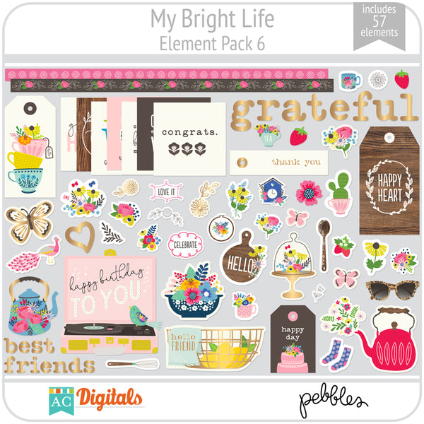 My Bright Life Element Pack 6