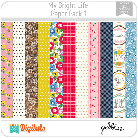 My Bright Life Paper Pack 1
