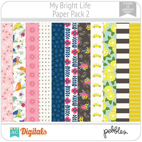 My Bright Life Paper Pack 2