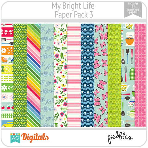My Bright Life Paper Pack 3
