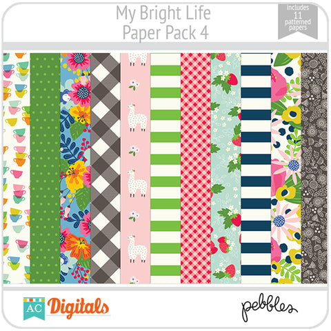 My Bright Life Paper Pack 4