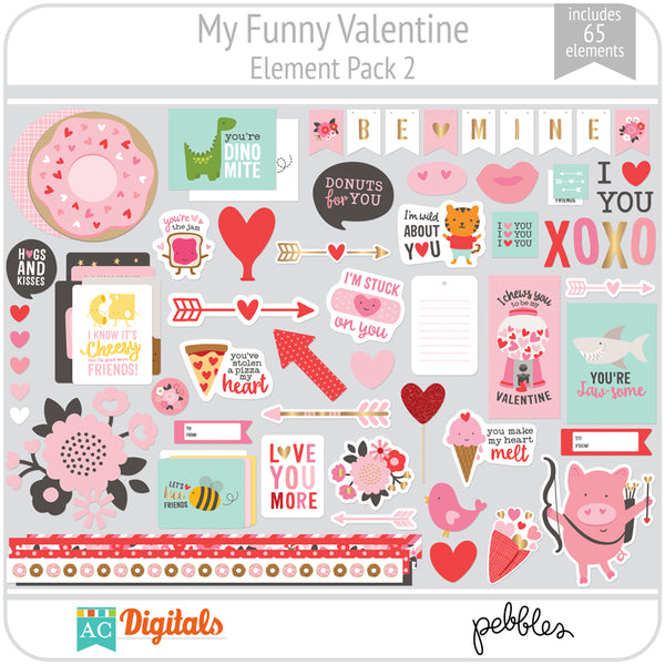 My Funny Valentine Element Pack 2