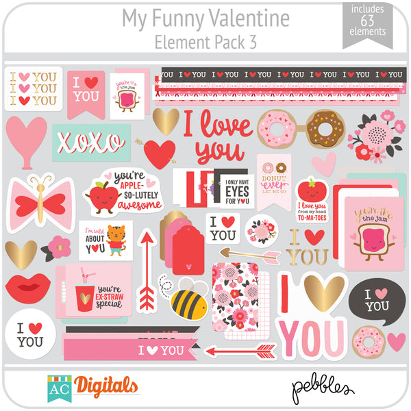 My Funny Valentine Element Pack 3