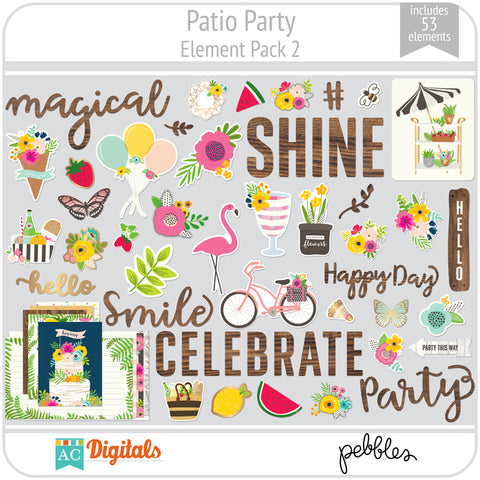 Patio Party Element Pack 2