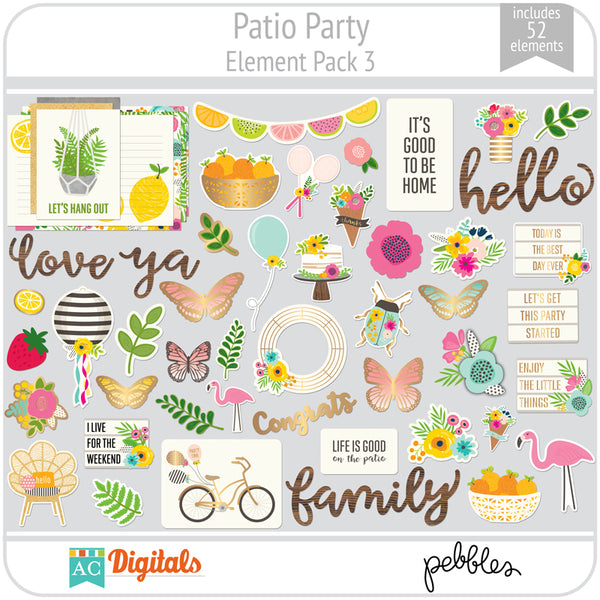 Patio Party Full Collection