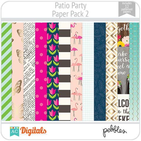 Patio Party Paper Pack 2