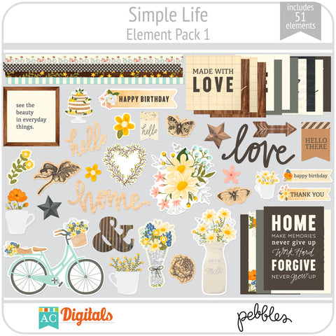 Simple Life Element Pack 1