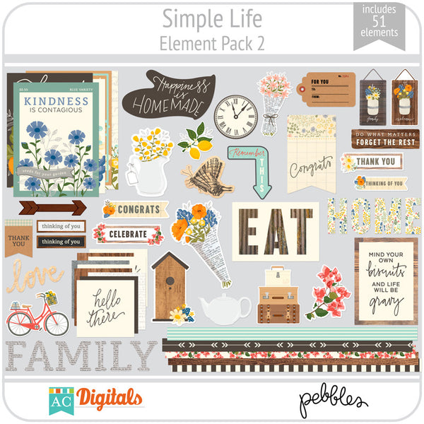 Simple Life Element Pack 2