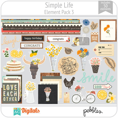 Simple Life Element Pack 3