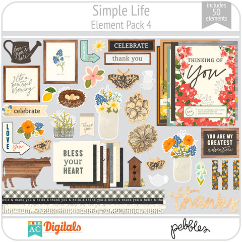 Simple Life Element Pack 4