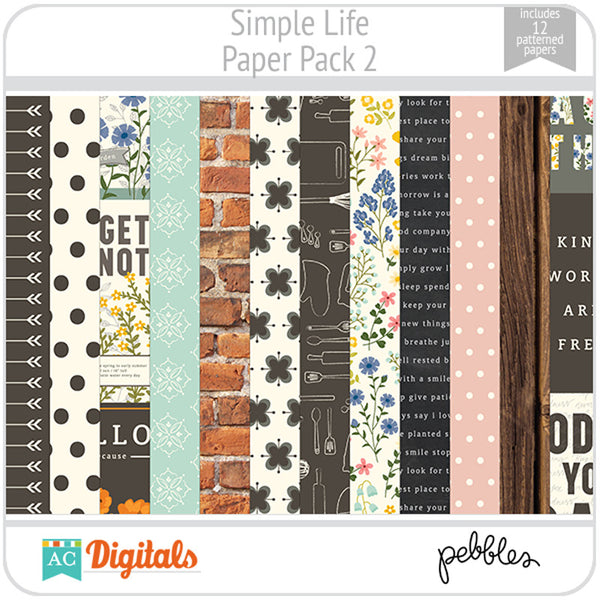 Simple Life Paper Pack 2