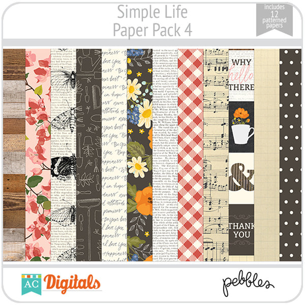 Simple Life Paper Pack 4