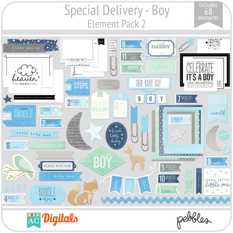 Special Delivery - Boy Element Pack 2