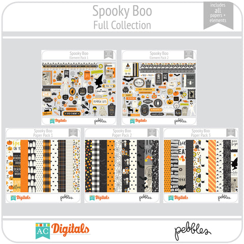 Spooky Boo Full Collection