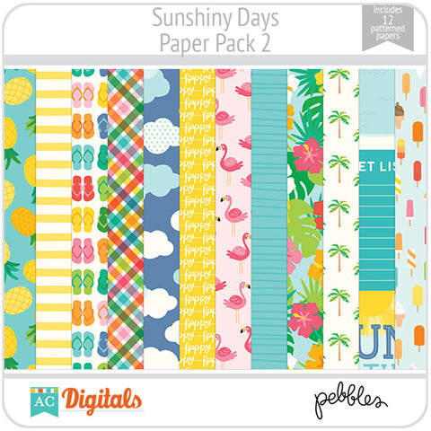 Sunshiny Days Paper Pack 2