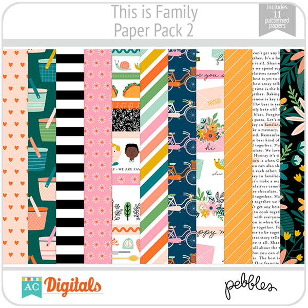 This is Family Paper Pack 2
