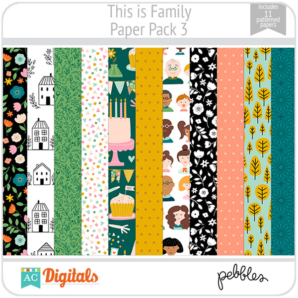 This is Family Paper Pack 3
