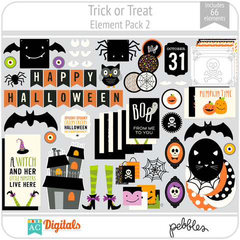 Trick or Treat Element Pack 2