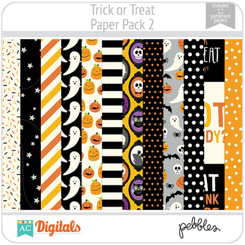 Trick or Treat Paper Pack 2