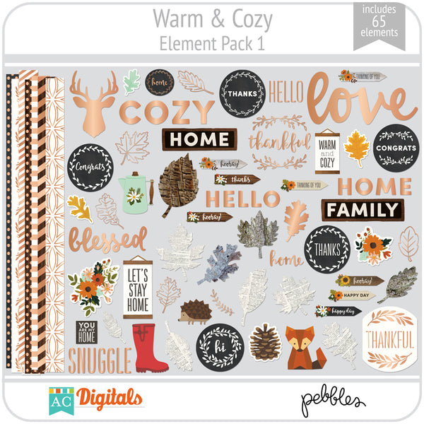 Warm & Cozy Element Pack 1