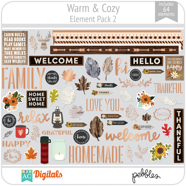 Warm & Cozy Element Pack 2