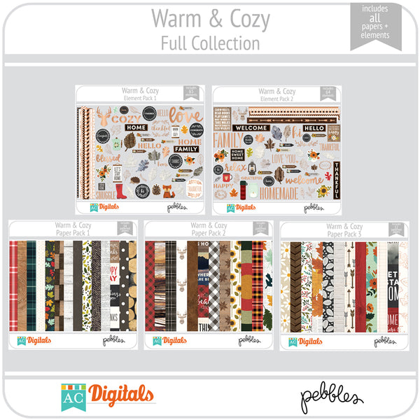 Warm & Cozy Full Collection