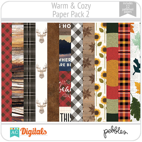 Warm & Cozy Paper Pack 2