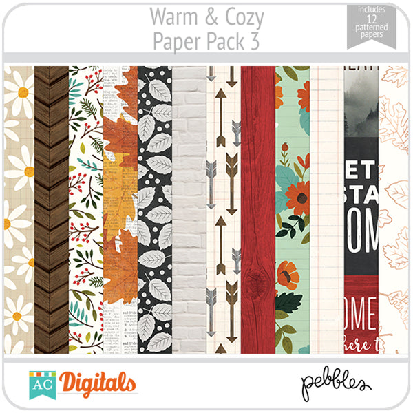 Warm & Cozy Paper Pack 3