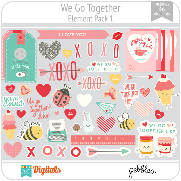 We Go Together Element Pack 1