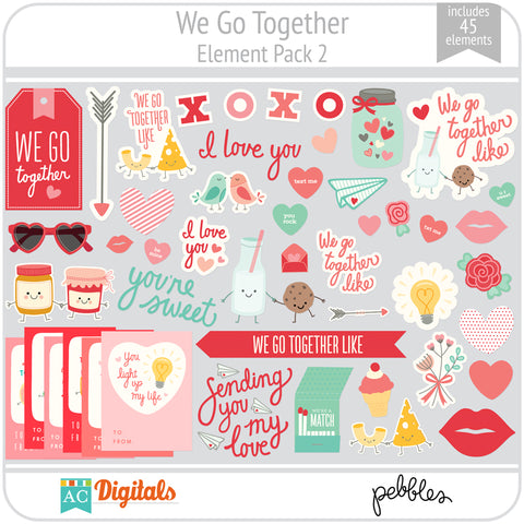 We Go Together Element Pack 2