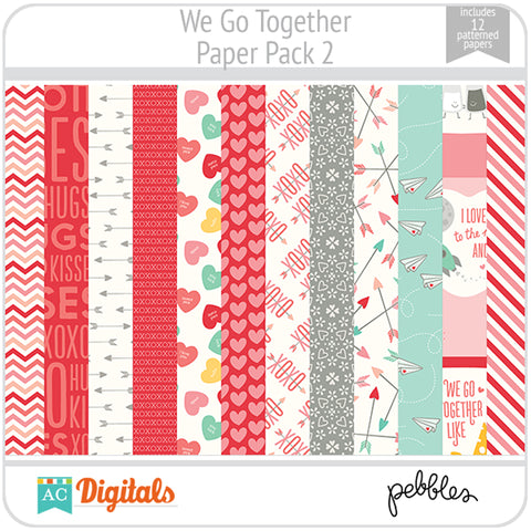 We Go Together Paper Pack 2