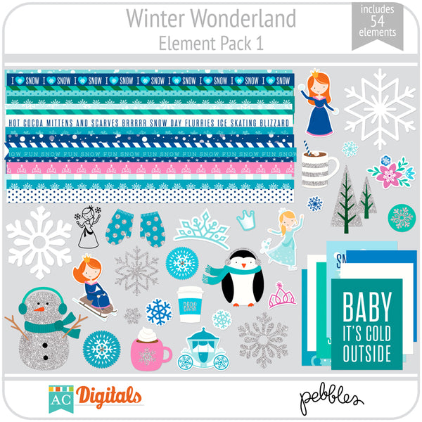 Winter Wonderland Element Pack 1