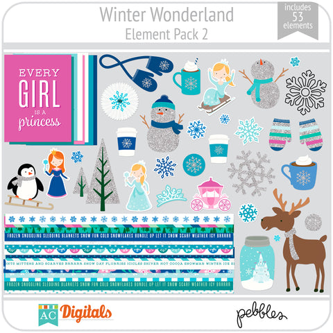 Winter Wonderland Element Pack 2
