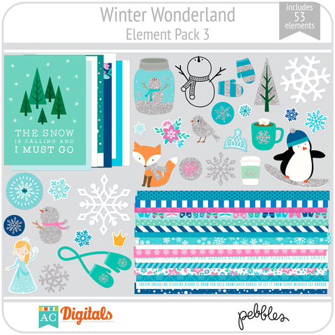 Winter Wonderland Element Pack 3