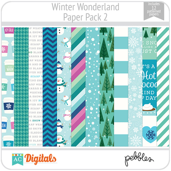 Winter Wonderland Paper Pack 2