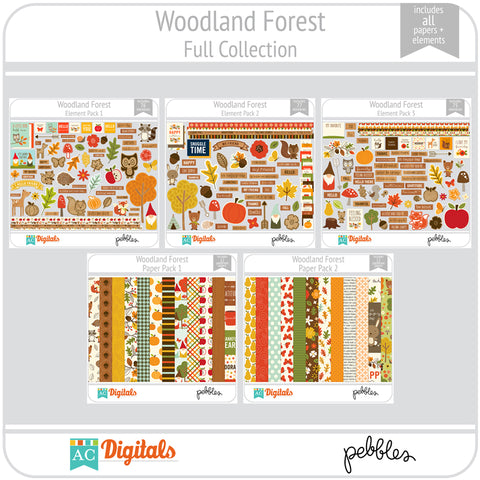 Woodland Forest Full Collection