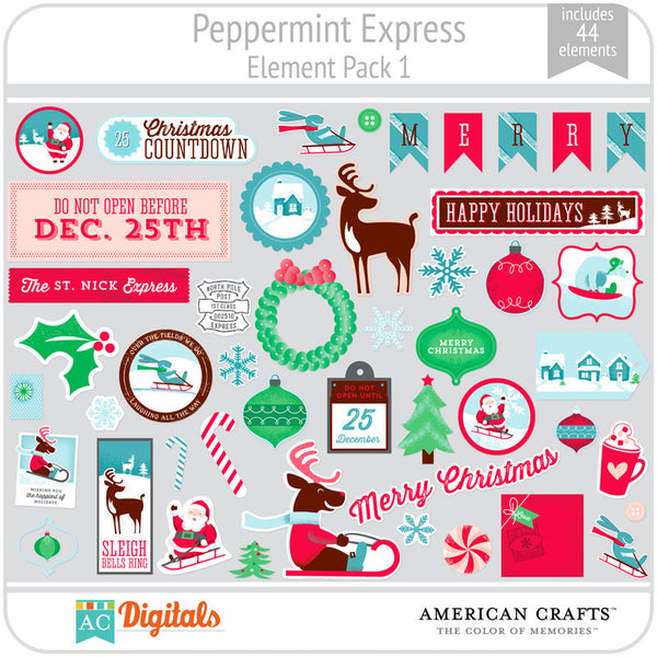 Peppermint Express Element Pack 1
