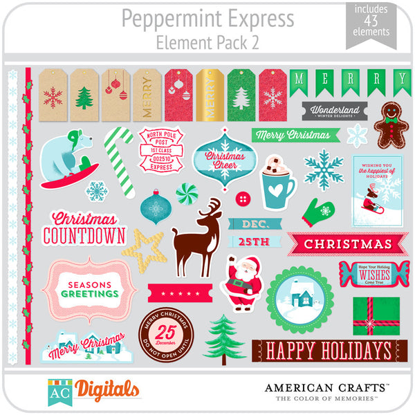 Peppermint Express Element Pack 2