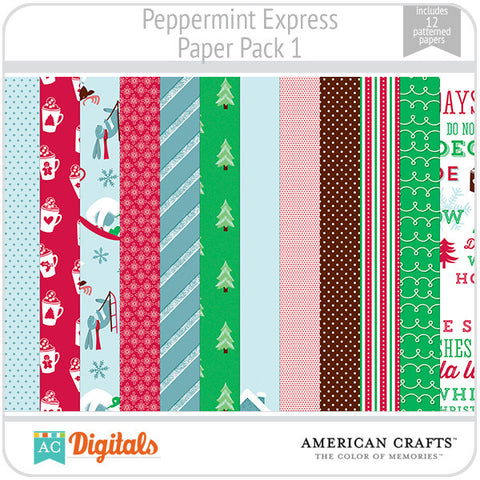 Peppermint Express Paper Pack 1