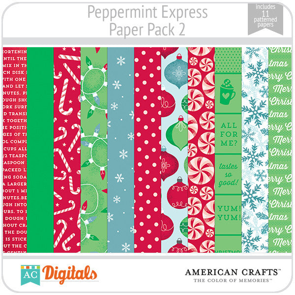 Peppermint Express Paper Pack 2