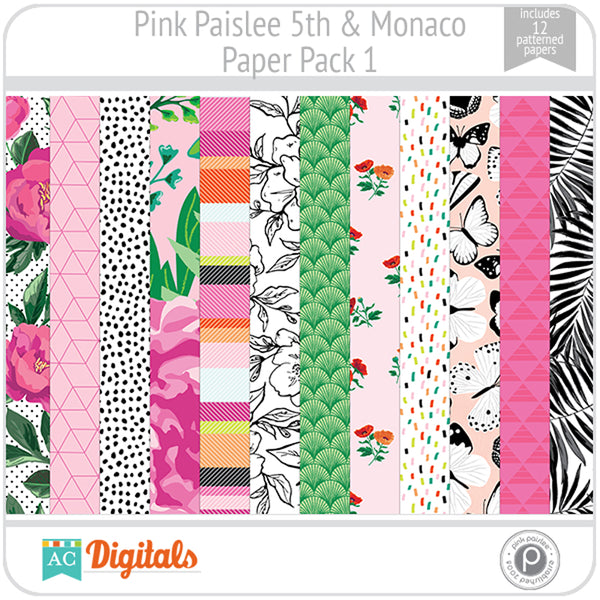 5th and Monaco Paper Pack 1