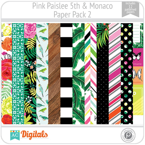 5th and Monaco Paper Pack 2