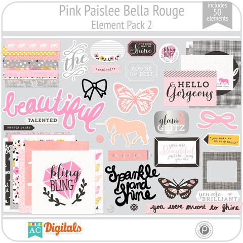 Bella Rouge Element Pack 2