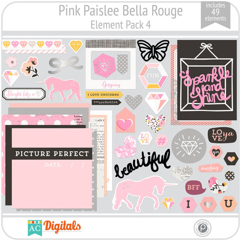 Bella Rouge Element Pack 4