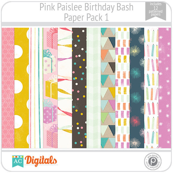 Birthday Bash Paper Pack 1