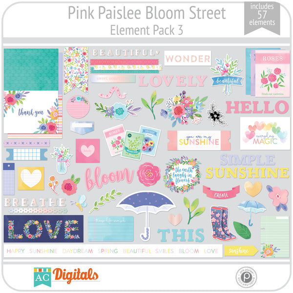 Bloom Street Element Pack 3