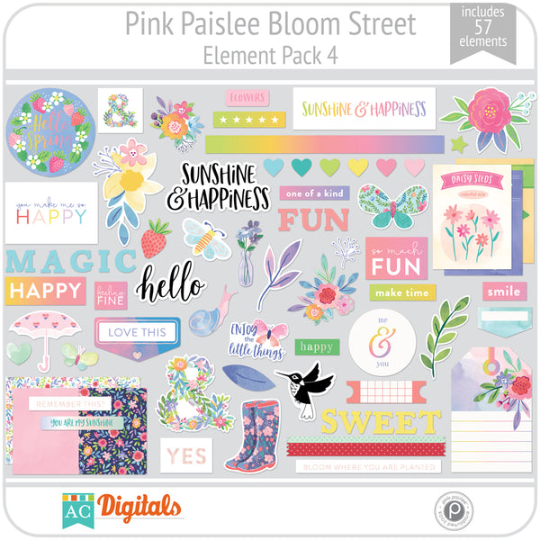 Bloom Street Element Pack 4