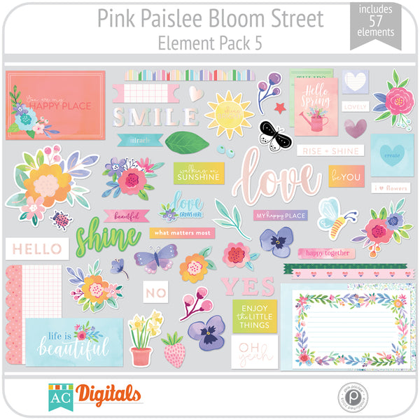 Bloom Street Element Pack 5