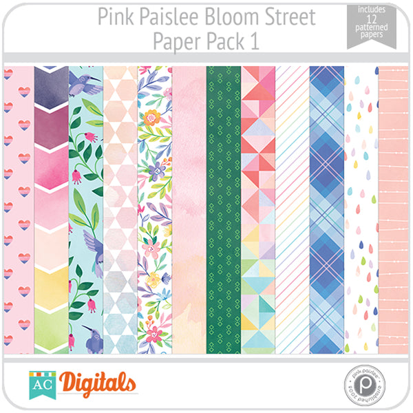 Bloom Street Paper Pack 1