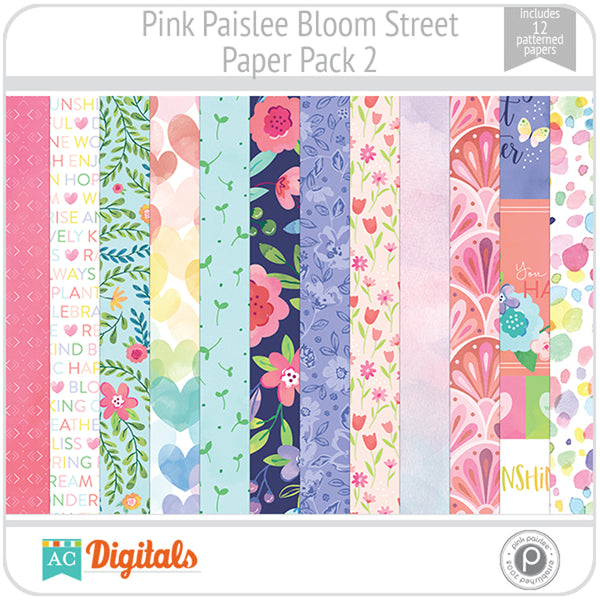 Bloom Street Paper Pack 2